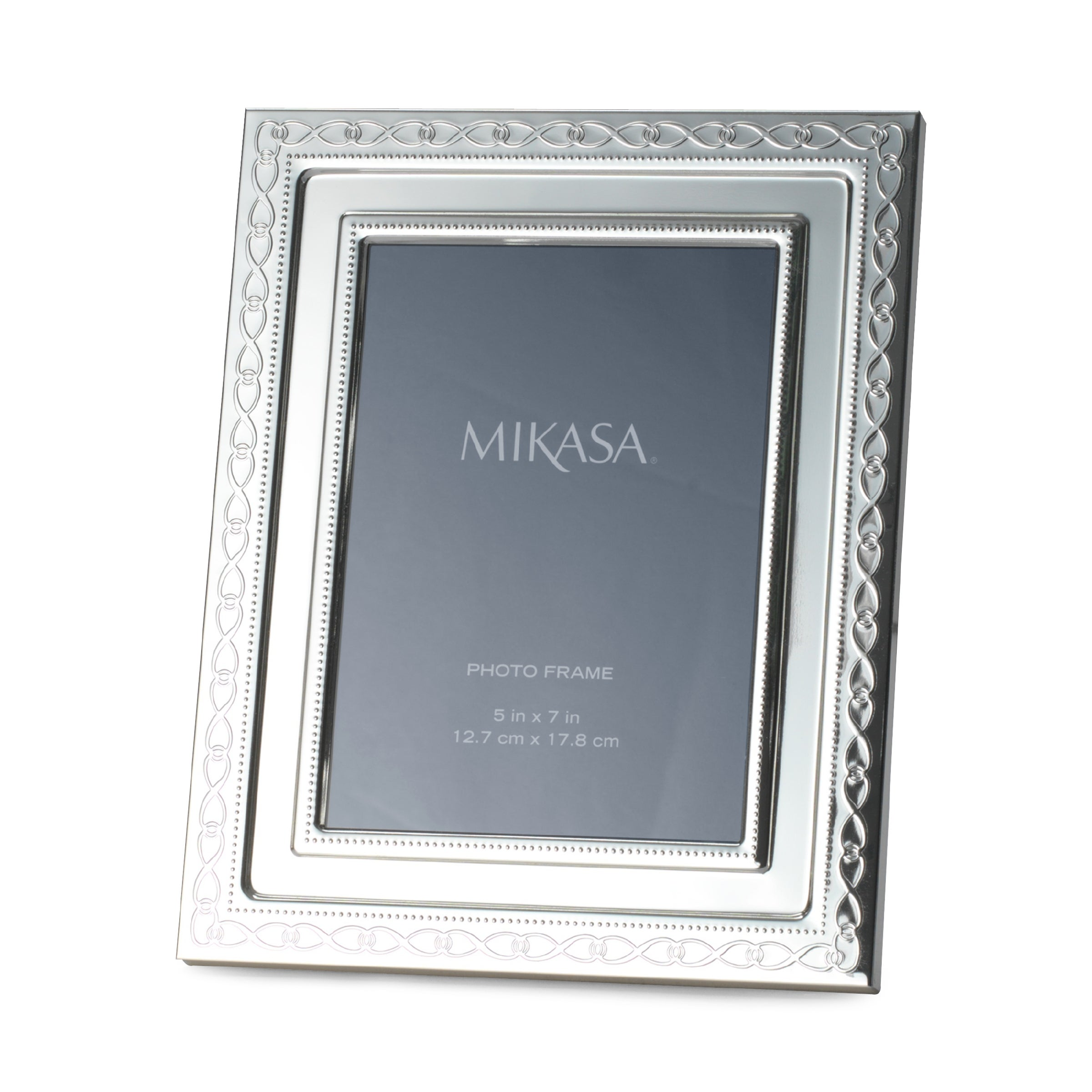 mikasa infinity band 5x7 inch photo frame