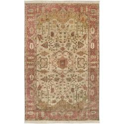 Hand-knotted Mesa Wool Rug (8' x 11')