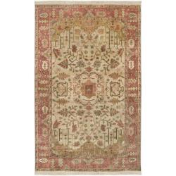Hand-knotted Mesa Wool Rug (5'6 x 8'6)
