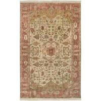 Hand-knotted Mesa Wool Area Rug (5'6 x 8'6)