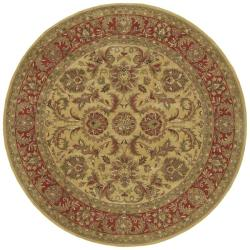 Hand-tufted Philly Wool Rug (8' Round)