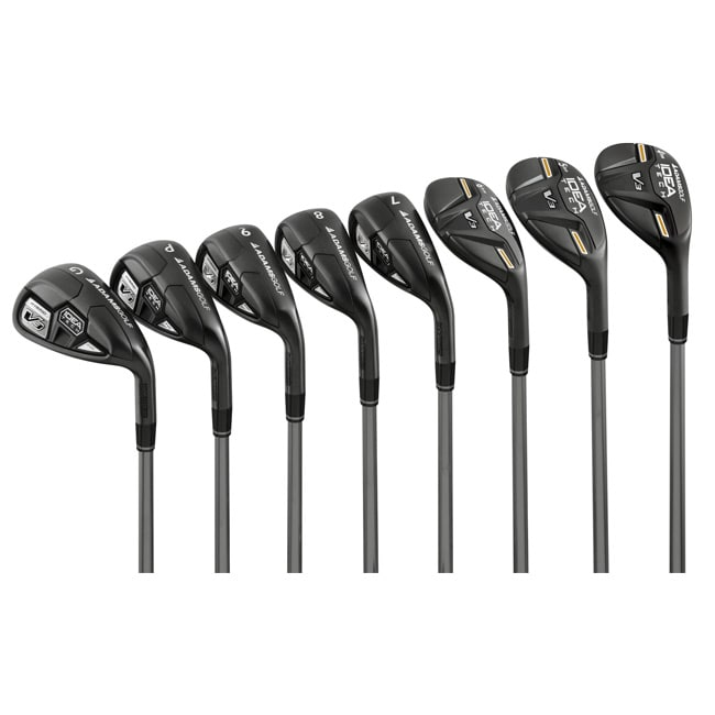 Adams Men's Idea Tech V3 All Hybrid Graphite Shaft Hybrid/ Iron Combo Set
