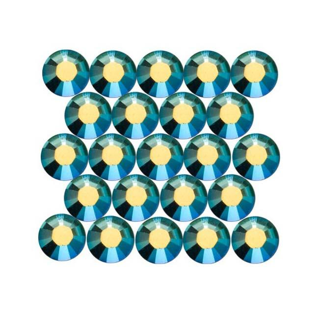 Beadaholique Sapphire AB ss16 Crystal Flatback Rhinestones (Pack of 50)
