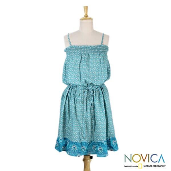 Cotton 'Jaipur Summer' Dress (India)