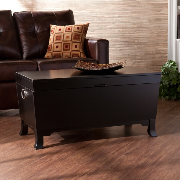 Harper Blvd Parsons Black Coffee/ Cocktail Table Trunk