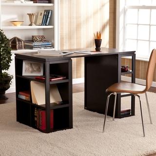 Upton Home Flexford Black Writing Office Desk