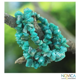 Set of 3 Amazonite 'Wonders' Beaded Bracelets (Brazil)