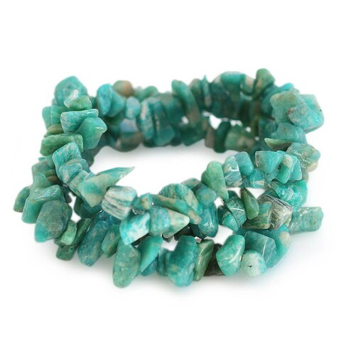 Handmade Set of 3 Amazonite 'Wonders' Beaded Bracelets (Brazil)