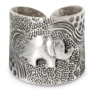 Handmade Sterling Silver 'King of the Forest' Ring (Thailand)