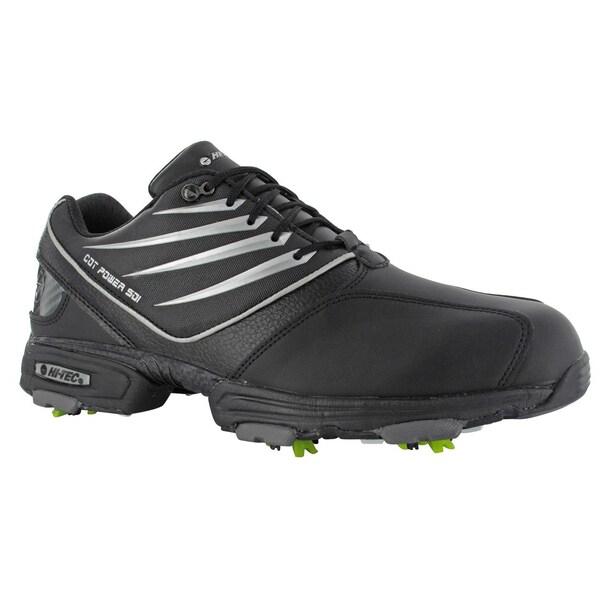 Hi-Tec CDT Power 501 Black/Silver Golf Shoes