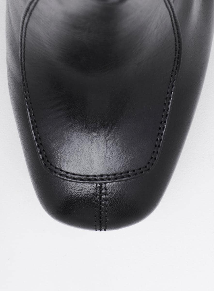 Calvin Klein Brenna Black Mid Shaft Boot