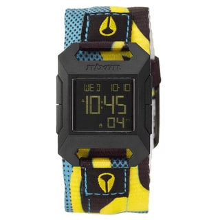 Nixon Women's Polycarbonate 'The Fidelity' Digital Watch