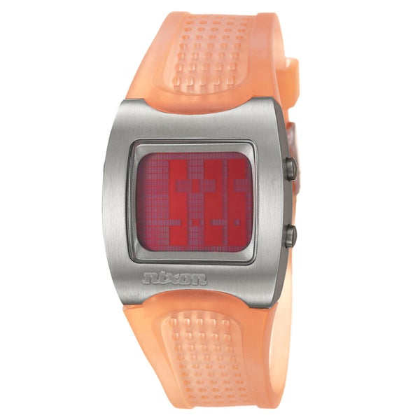 Nixon Men's 'The ISIS' Stainless Steel Date Watch
