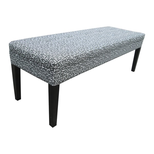 Kaya Sprinkles Decorative Grey Bench