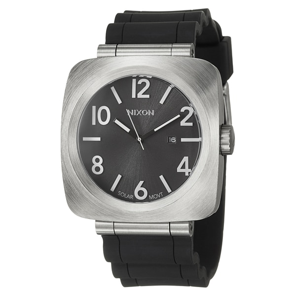 Nixon Men's Black Stainless Steel 'Volta' Watch