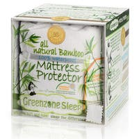 Rayon from Bamboo Jersey Waterproof Mattress Protector - White