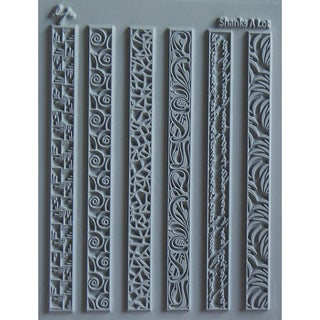 "Lisa Pavelka Individual Texture Stamp 4.25""X5.5"" 1/Pkg-Shanks A Lot"