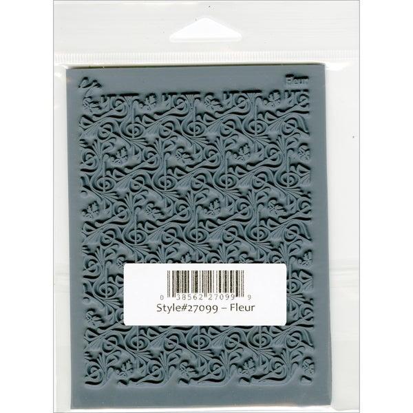 """Lisa Pavelka Individual Texture Stamp 4.25""""X5.5"""" 1/Pkg-Fleur"""