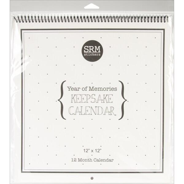 "SRM Keepsake Calendar 12""X12""-"