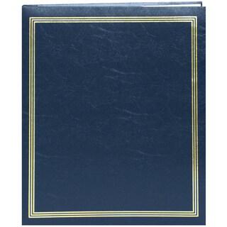 "Pioneer Postbound Jumbo Album 11""X14""-Navy Blue"