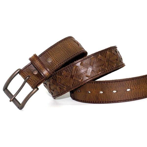 Toneka Men's Old Style Belt
