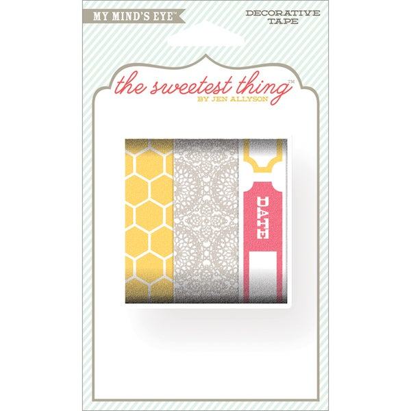 The Sweetest Thing Honey Decorative Tape-Love