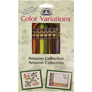 DMC Color Variations Floss Pack-Amazon 8/Pkg