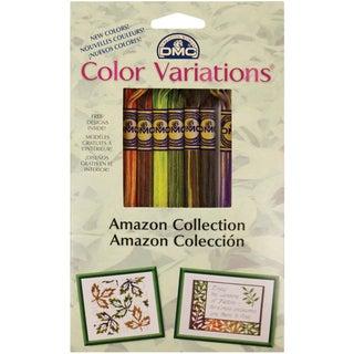 DMC Color Variations Floss Pack-Amazon 8/Pkg