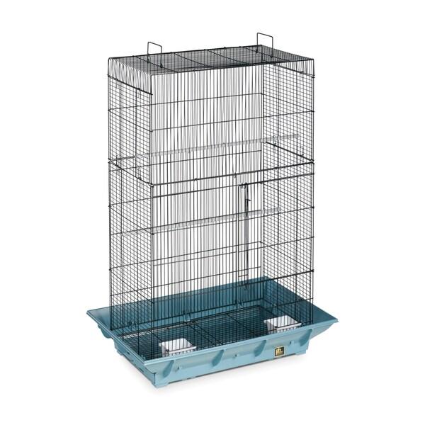 Prevue Pet Products Clean Life Flight Cage Black & Blue SP855-1