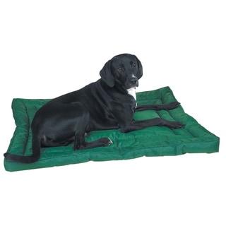 Slumber Pet Green Water-resistant Bed