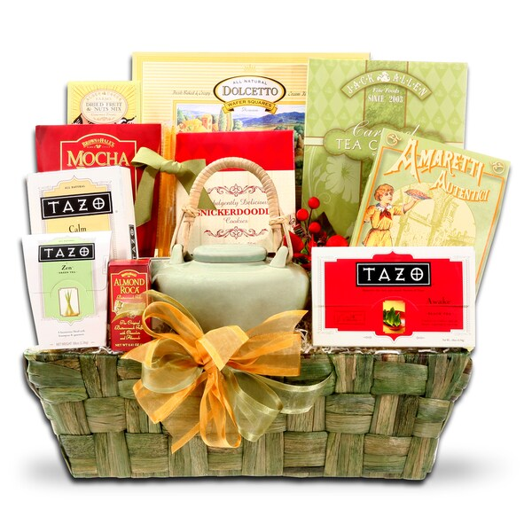 Alder Creek Gift Baskets Holiday Tazo Tea Gift Basket