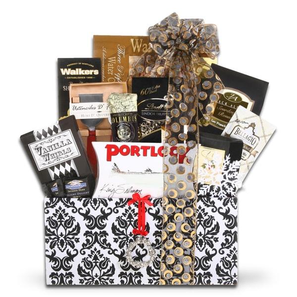 Alder Creek Gift Baskets Holiday Elegance Gift Basket