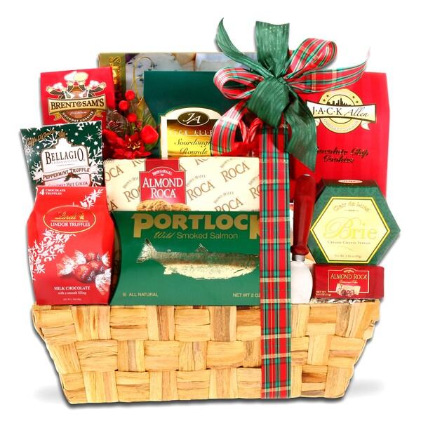 Alder Creek Gift Baskets Traditional Holiday Gift Basket