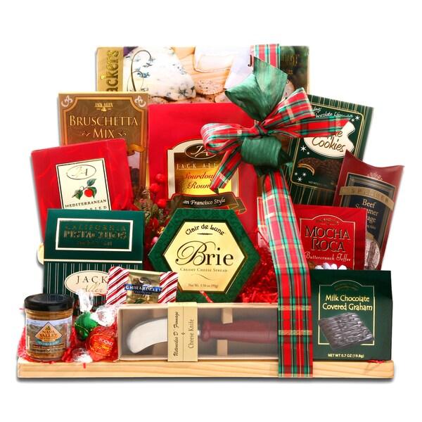 Alder Creek Gift Baskets Holiday Board Gift Basket