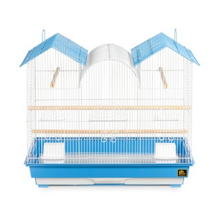 Prevue Pet Products Triple Roof Blue and White Bird Cage