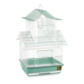 Prevue Pet Products Shanghai Green and White Parakeet Cage