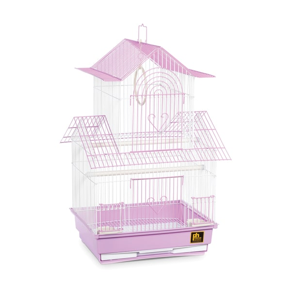 Prevue Pet Products Shanghai Lilac and White Parakeet Cage