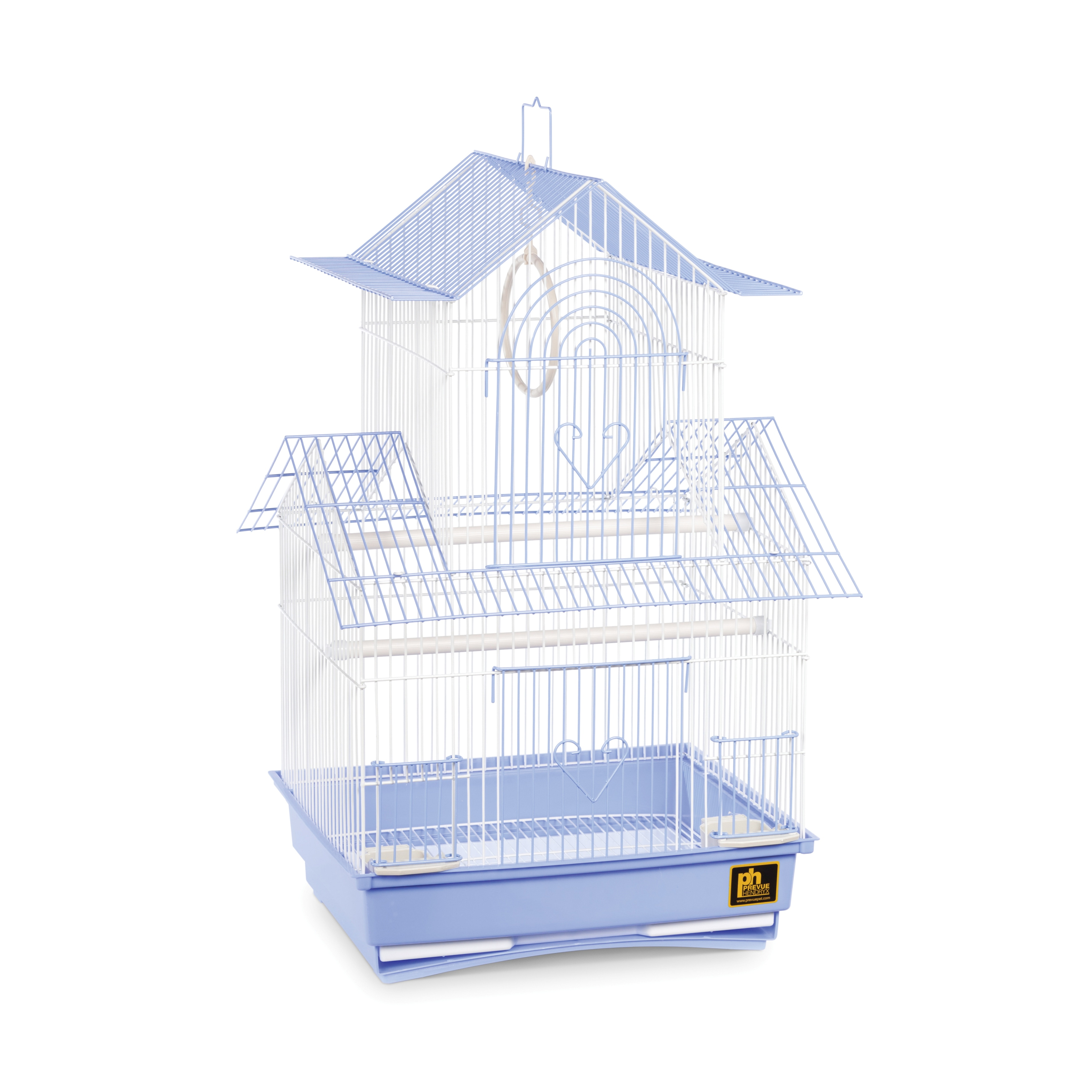Prevue Pet Products Shanghai Blue and White Parakeet Cage...