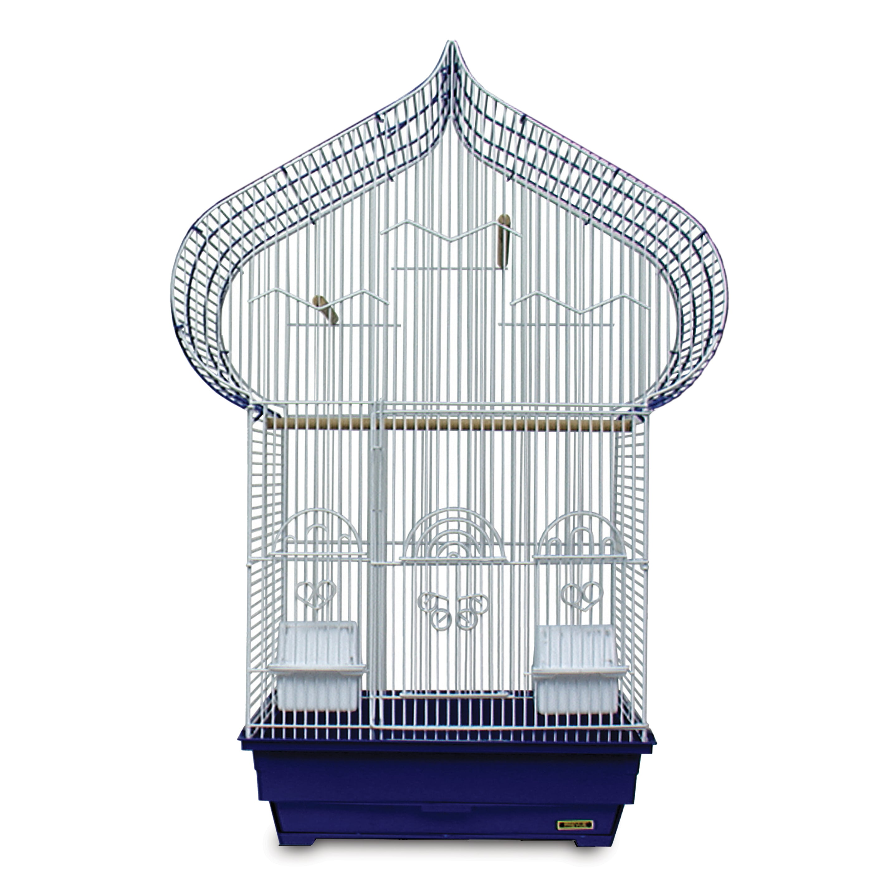 Prevue Pet Products Blue and White Casbah Cage (Blue/White)