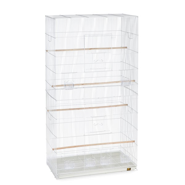 Prevue Pet Products White Jumbo Flight Cage
