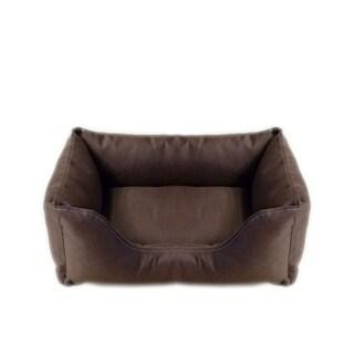 Carolina Pet Chocolate Brown Brutus Tuff Kuddle Pet Bed Lounger