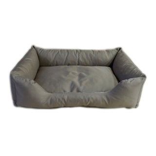Carolina Pet Khaki Brutus Tuff Kuddle Pet Bed Lounger