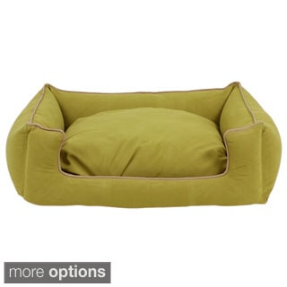 Carolina Pet Green Microfiber Low Profile Kuddle Lounge