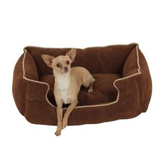 Carolina Pet Microfiber Low Profile Kuddle Pet Bed Lounger