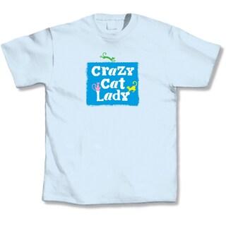 'Crazy Cat Lady' Cat Lover's T-Shirt