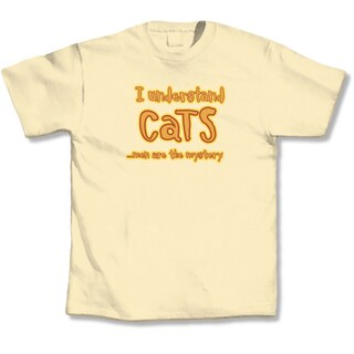 I Understand Cats Men Are The Mystery' Cat Lovers T-shirt