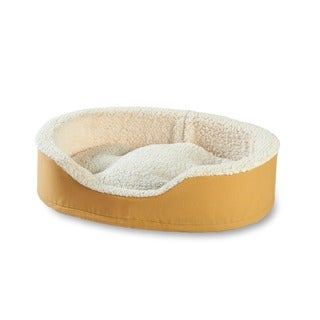 Oliver Foam Toast Dog Bed