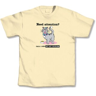 'Need Attention? Call 1-800-Not-My-Problem' Cat Lover's T-Shirt