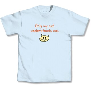 'Only My Cat Understands Me' Cat Lover's T-Shirt