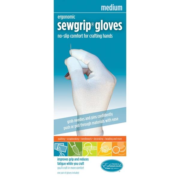 FA Edmunds Sew-Grip Rubber Fingered Gloves